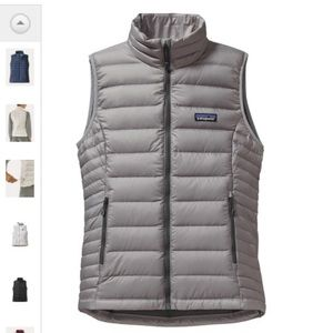 Patagonia Sweater Down Vest